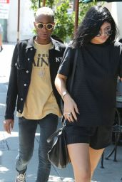 Kylie Jenner - Out for Lunch in West Hollywood - July 2014