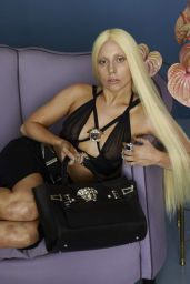 Lady Gaga - Photoshoot for VersaceFull 2014