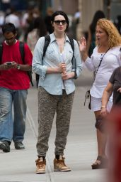 Laura Prepon Street Style, July 2014 - Out in NYC