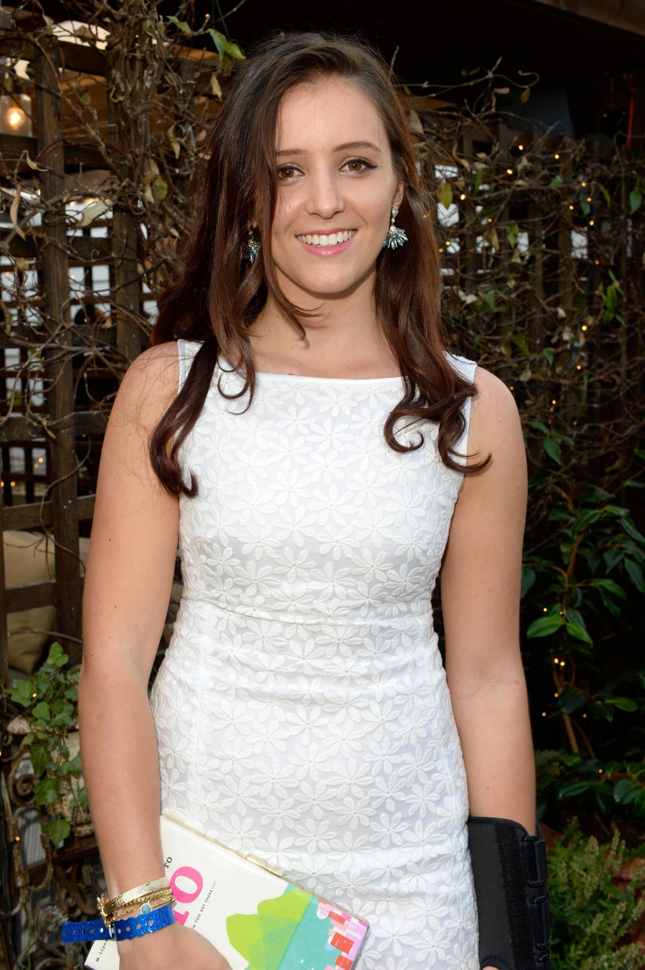 Laura Robson at Warners & GQ Summer Party - July 2014