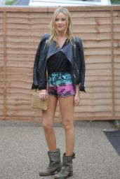 Laura Whitmore Leggy at Wireless Festival, North London - July 2014