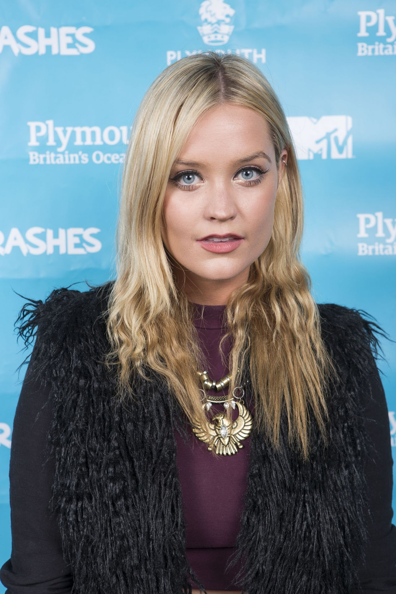 Laura Whitmore - MTV Crashes Plymouth (England) - July 2014