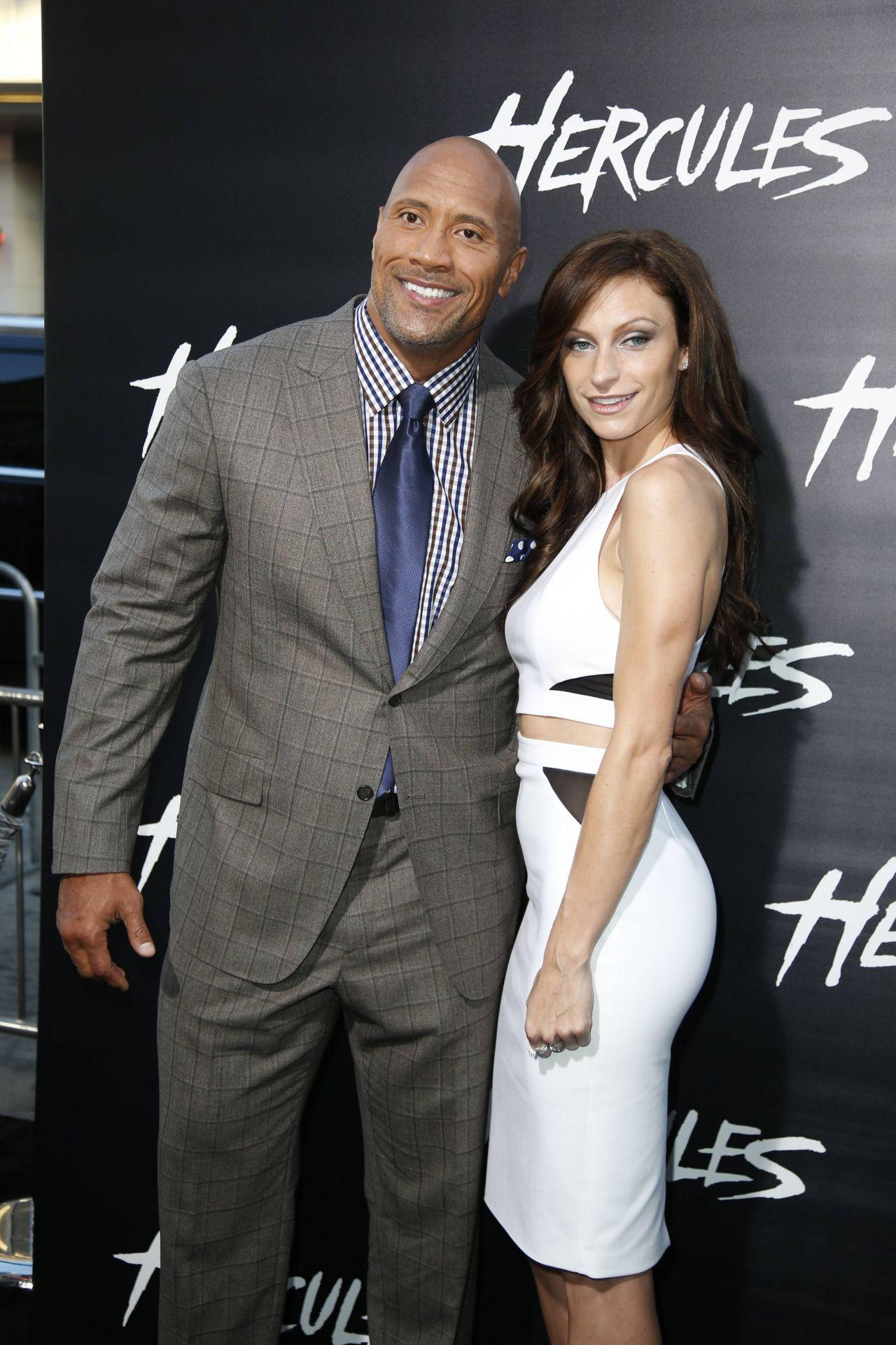 Lauren Hashian And Dwayne The Rock Johnson  Hercules -8042