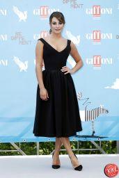 Lea Michele - 2014 Giffoni Film Festival in Italy
