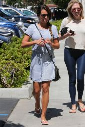 Lea Michele Street Style - Out in Los Angeles - july 2014