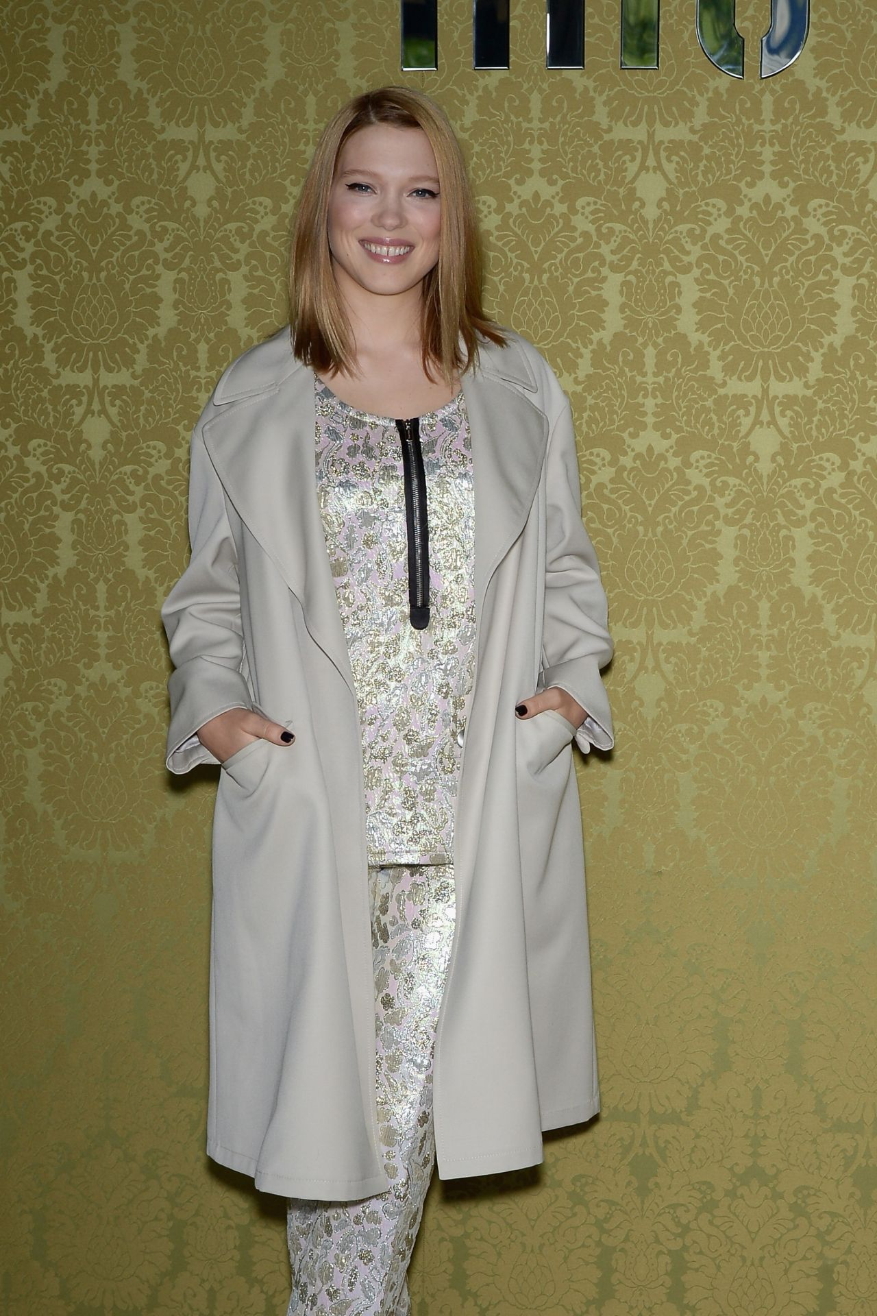Lea Seydoux in Paris – Miu Miu Resort Collection 2014