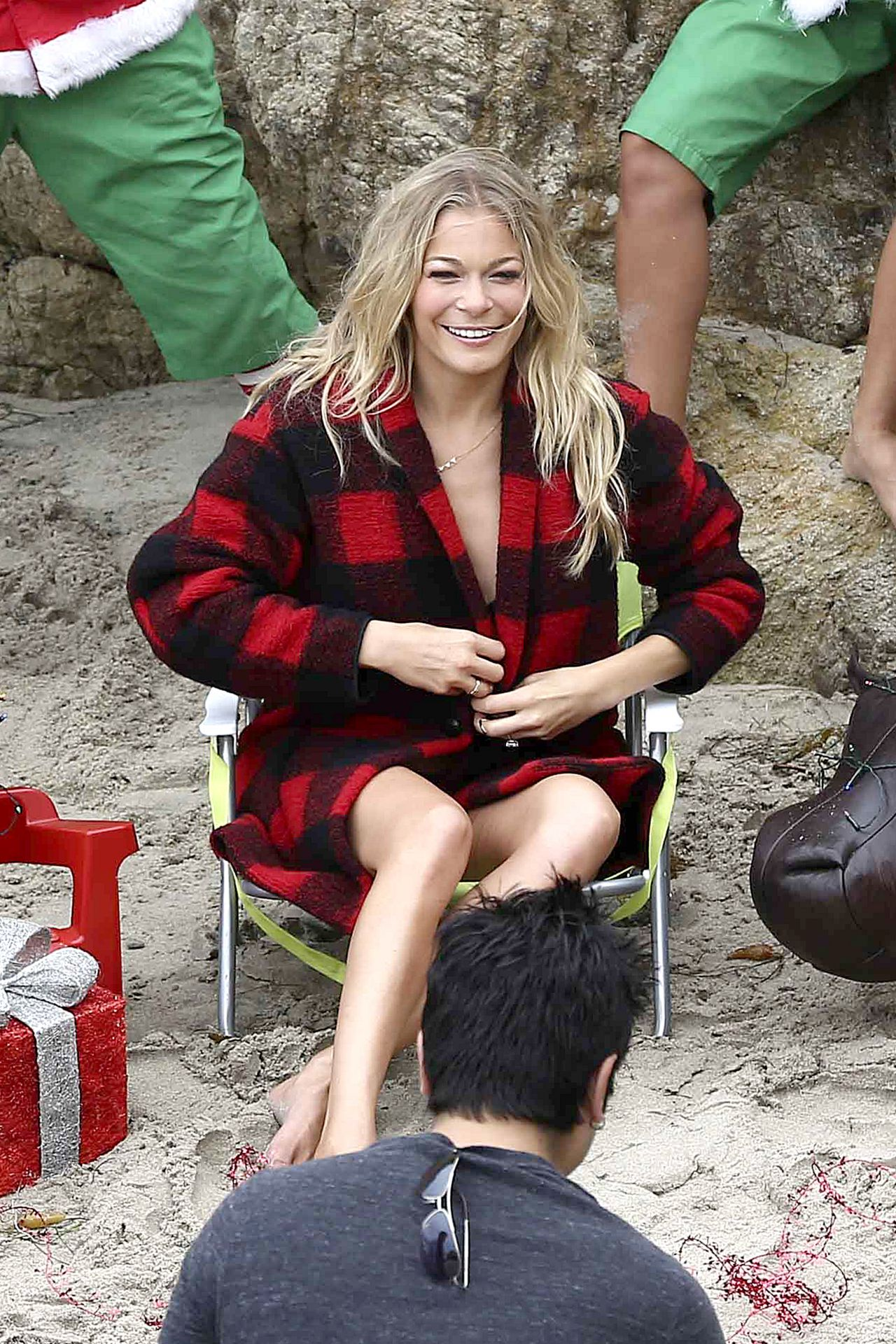 Leann Rimes Bikini Photoshoot In Malibu July 2014
