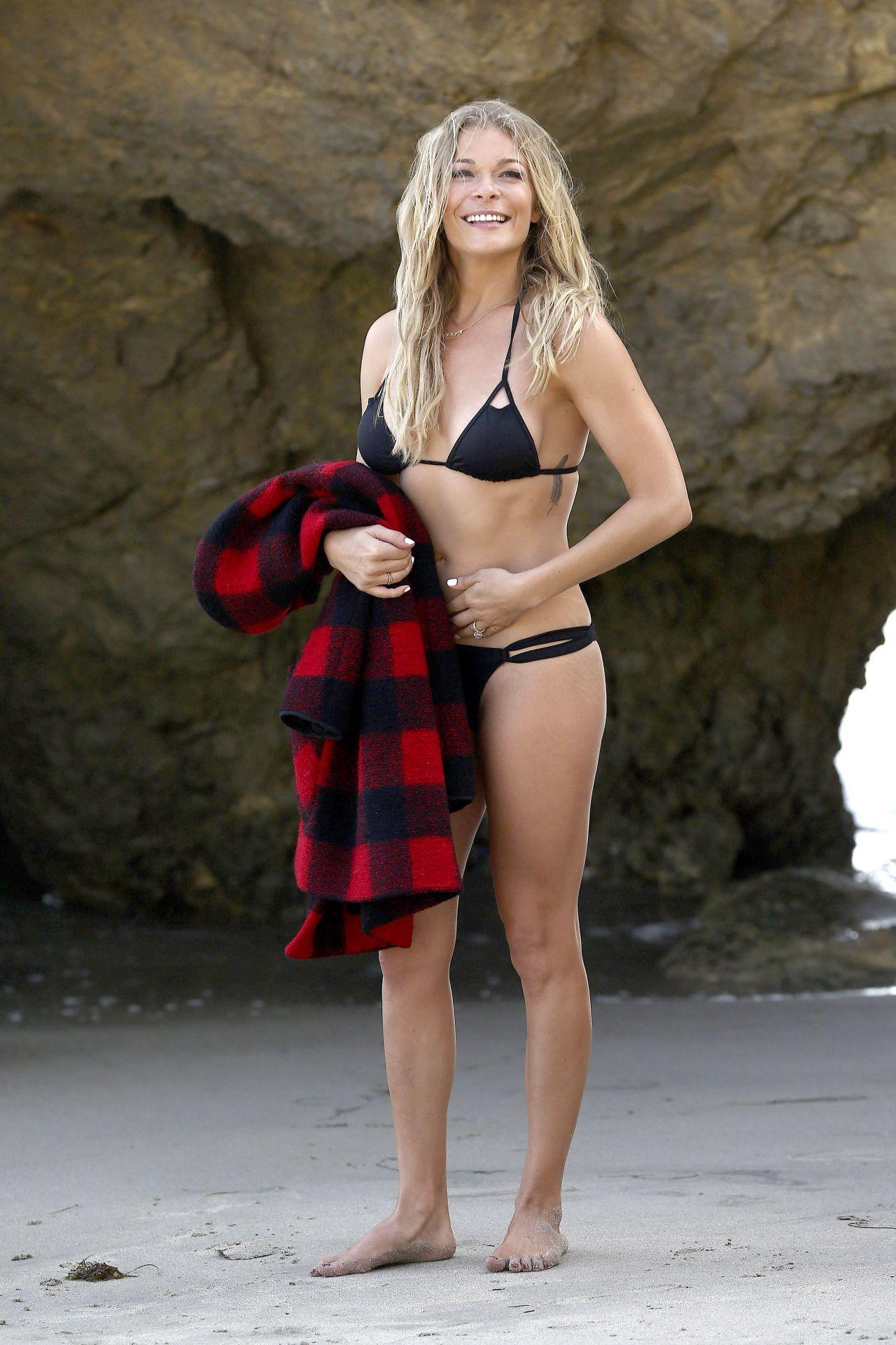 Leann Rimes Bikini Photoshoot In Malibu