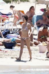 Lena Headey in a Bikini at a Beach in Ibiza - July 2014