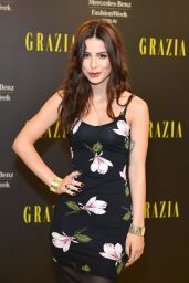 Lena Meyer-Landrut - Opening Night by Grazia Arrivals at MBFW in Berlin - July 2014