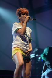 Lily Allen Performs at The Latitude Festival - July 2014