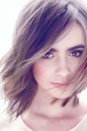 Lily Collins - Yo Dona Magazine Photoshoot - July 2014