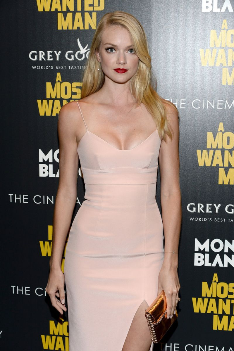 Lindsay Ellingson A Most Wanted Man Premiere In New