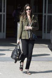 Liv Tyler & Dakota Johnson Arriving at JFK Airport in New York City on July 2014