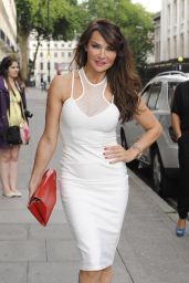 Lizzie Cundy at OK! World Cup Summer BBQ in London - July 2014