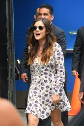 Lucy Hale Street Style - Out in NYC - June 2014