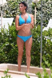 Lucy Mecklenburgh in a Bikini in Rome - July 2014