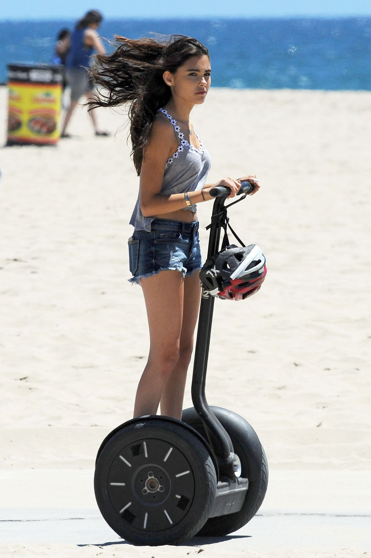 Madison Beer Street Style Out In Santa Monica July 2014