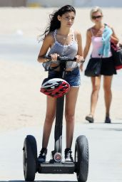 Madison Beer Street Style - Out in Santa Monica, July 2014