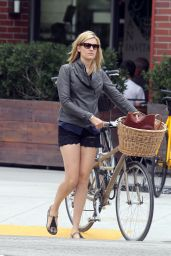Maggie Grace in Shorts - Out in Venice Beach - July 2014