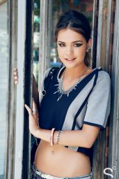 Maia Mitchell Photoshoot for Beauty High / Style Caster - July 2014