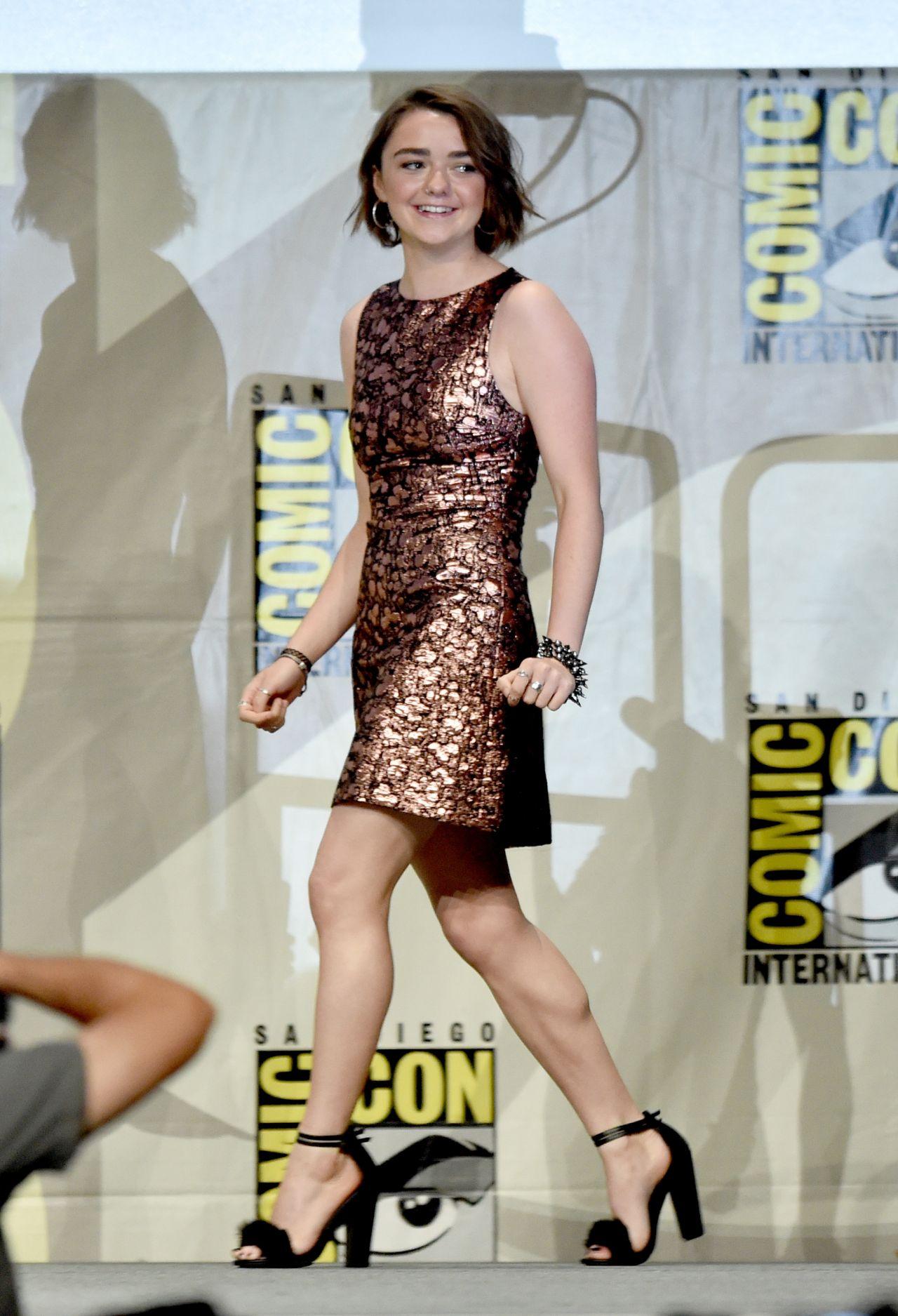Maisie Williams – 'Game of Thrones' Panel at SDCC 2014 Maisie Williams 2011