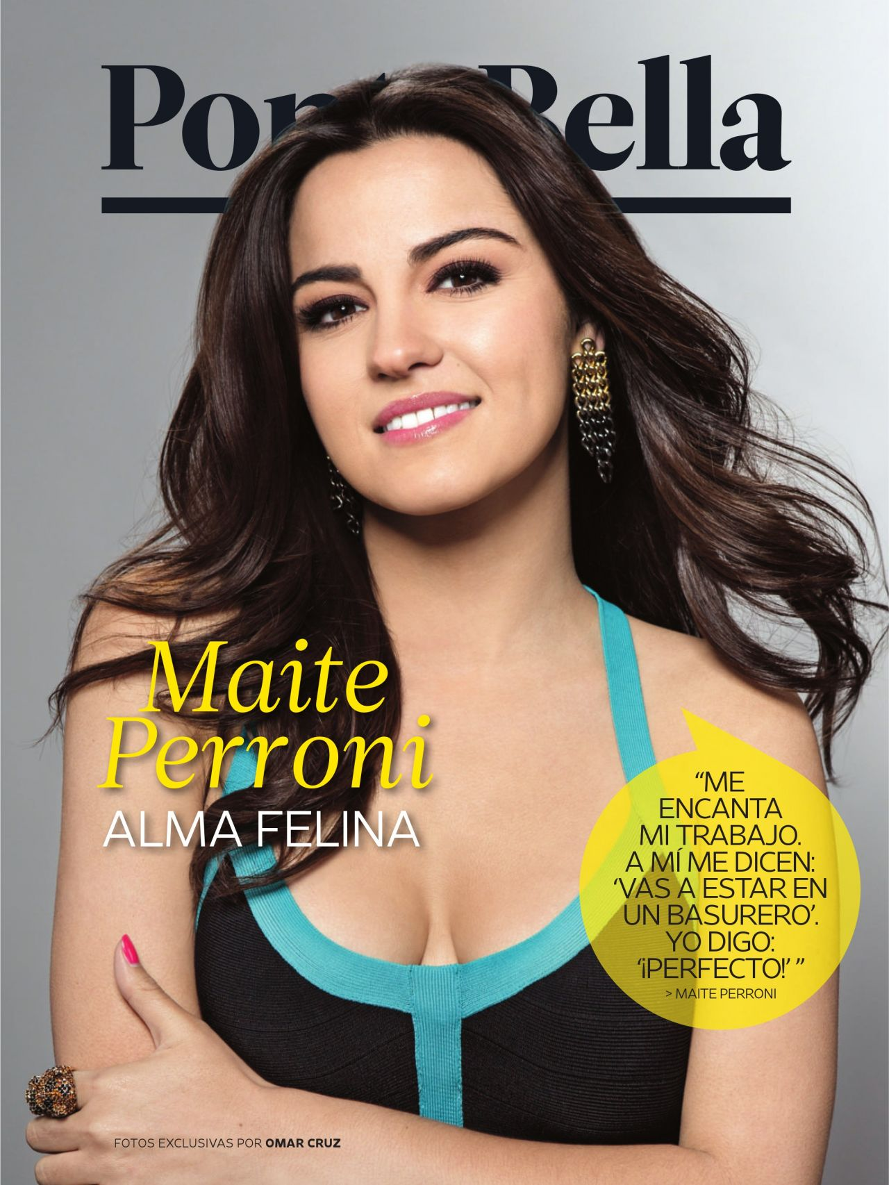 Maite Perroni - People Magazine (Spain) - August 2014 Issue