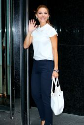 Maria Menounos - Out in New York City - July 2014