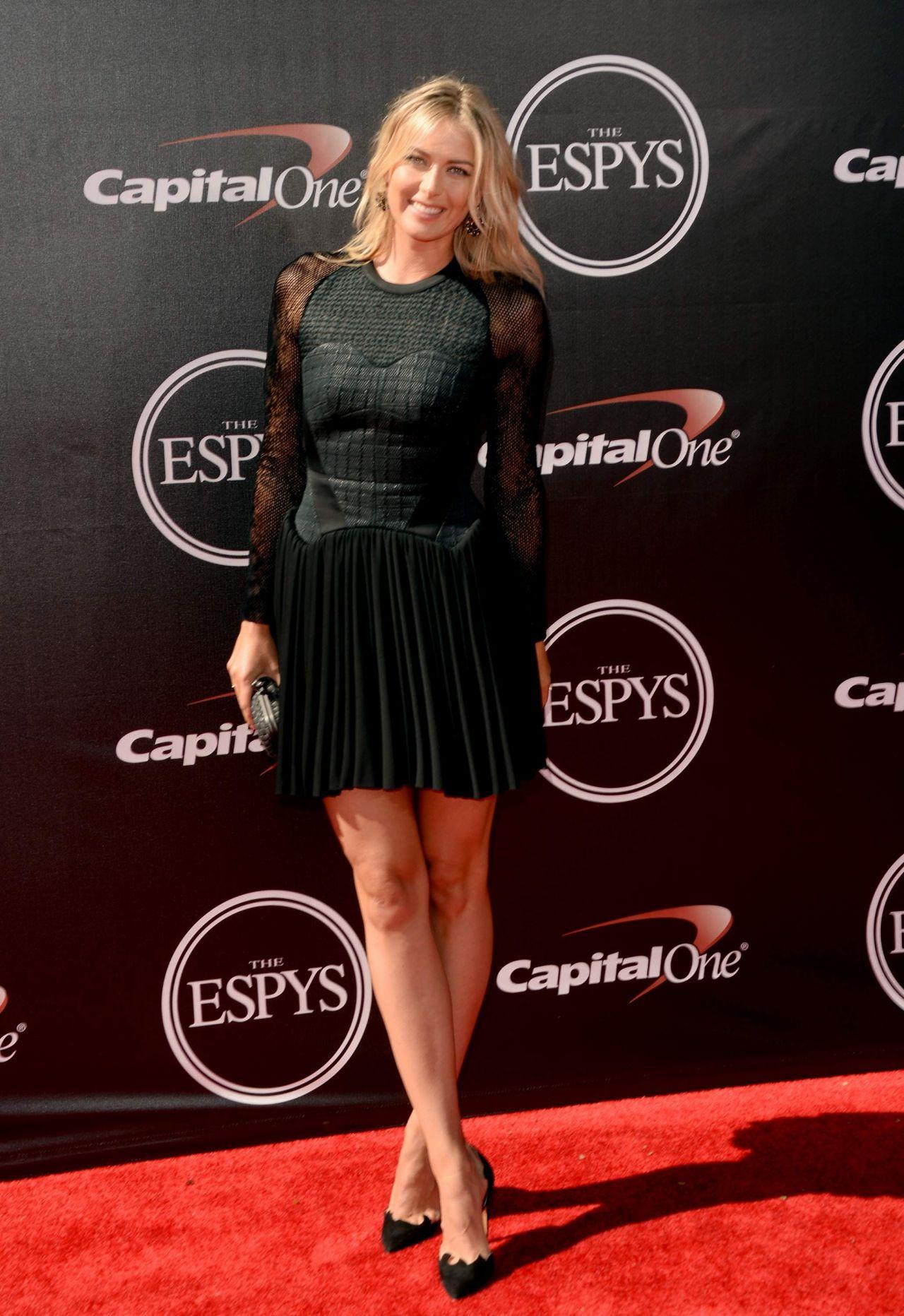 Maria Sharapova 2014 Espy Awards In Los Angeles