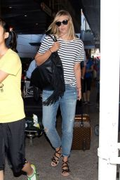 Maria Sharapova Arriving at LAX Airport - July 2014