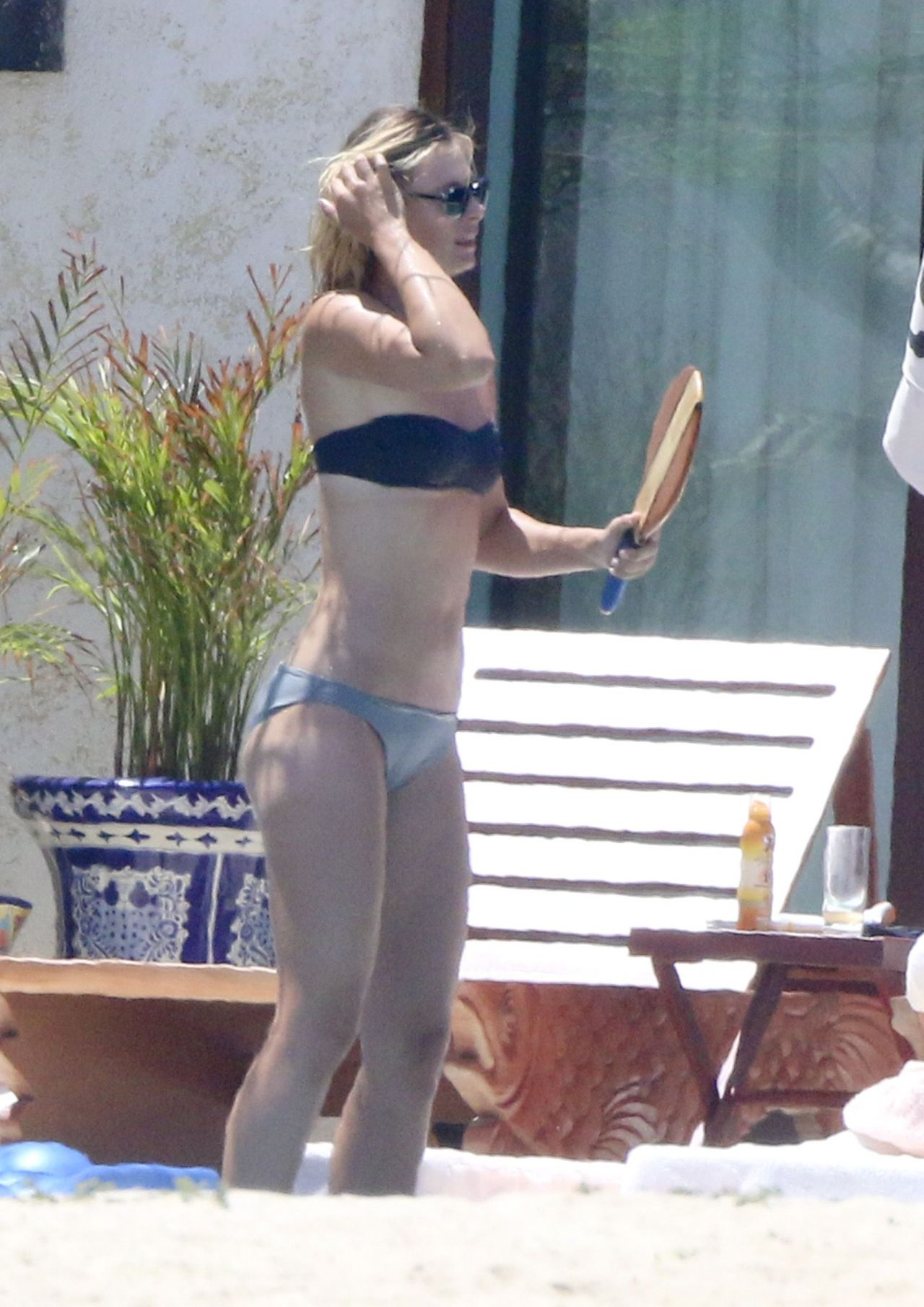Maria Sharapova Bikini Candids - on Vacation in Cabo - July 2014