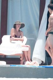 Maria Sharapova Bikini Pics - Vacation in Cabo With Grigor Dimitrov - July 2014