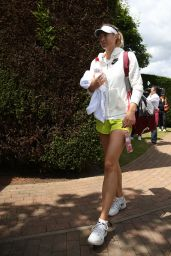 Maria Sharapova - Practice on the Middle Sunday – Wimbledon Tennis Championships 2014