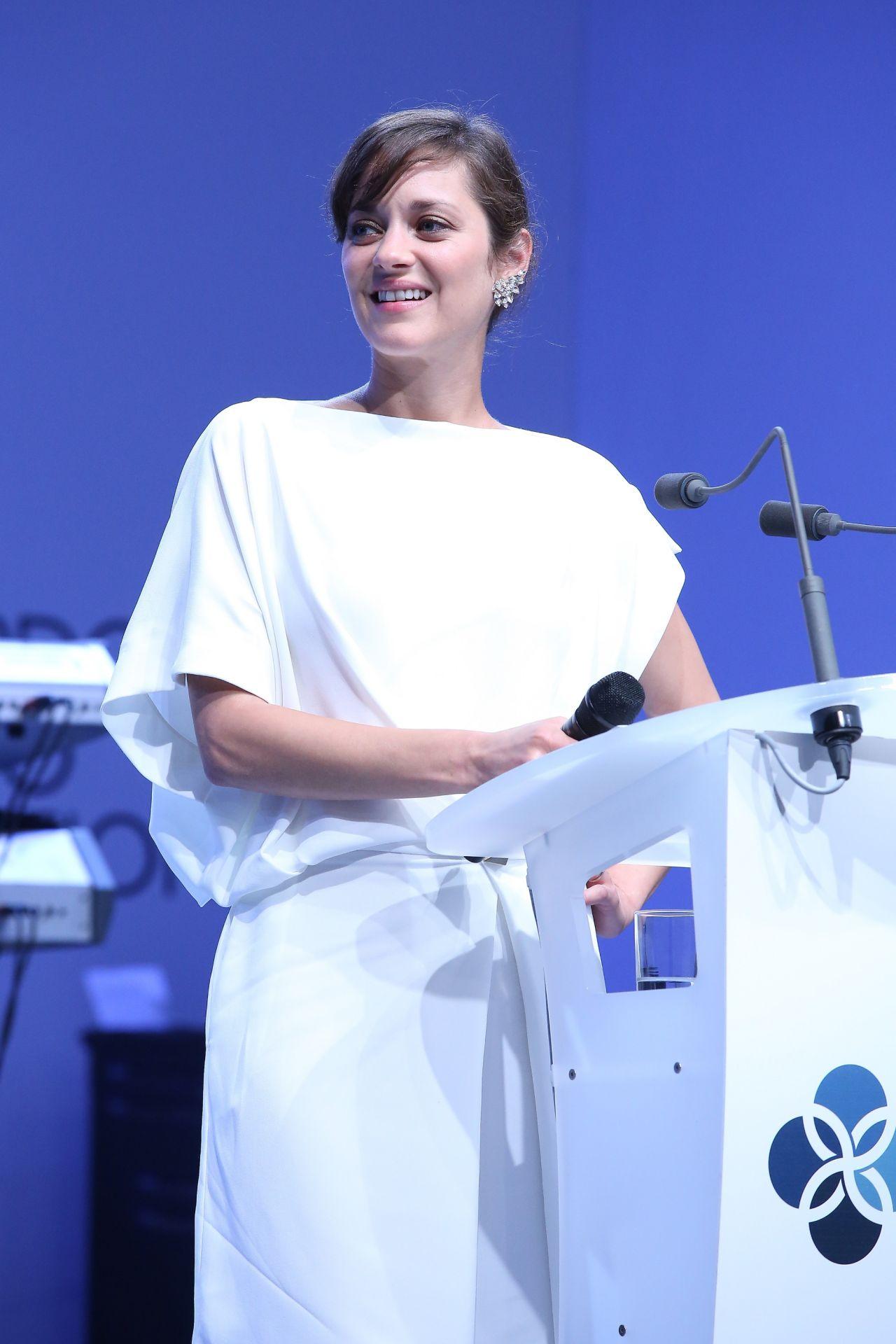 Marion Cotillard - Leonardo Dicaprio Foundation Inaugurational Gala (2014)