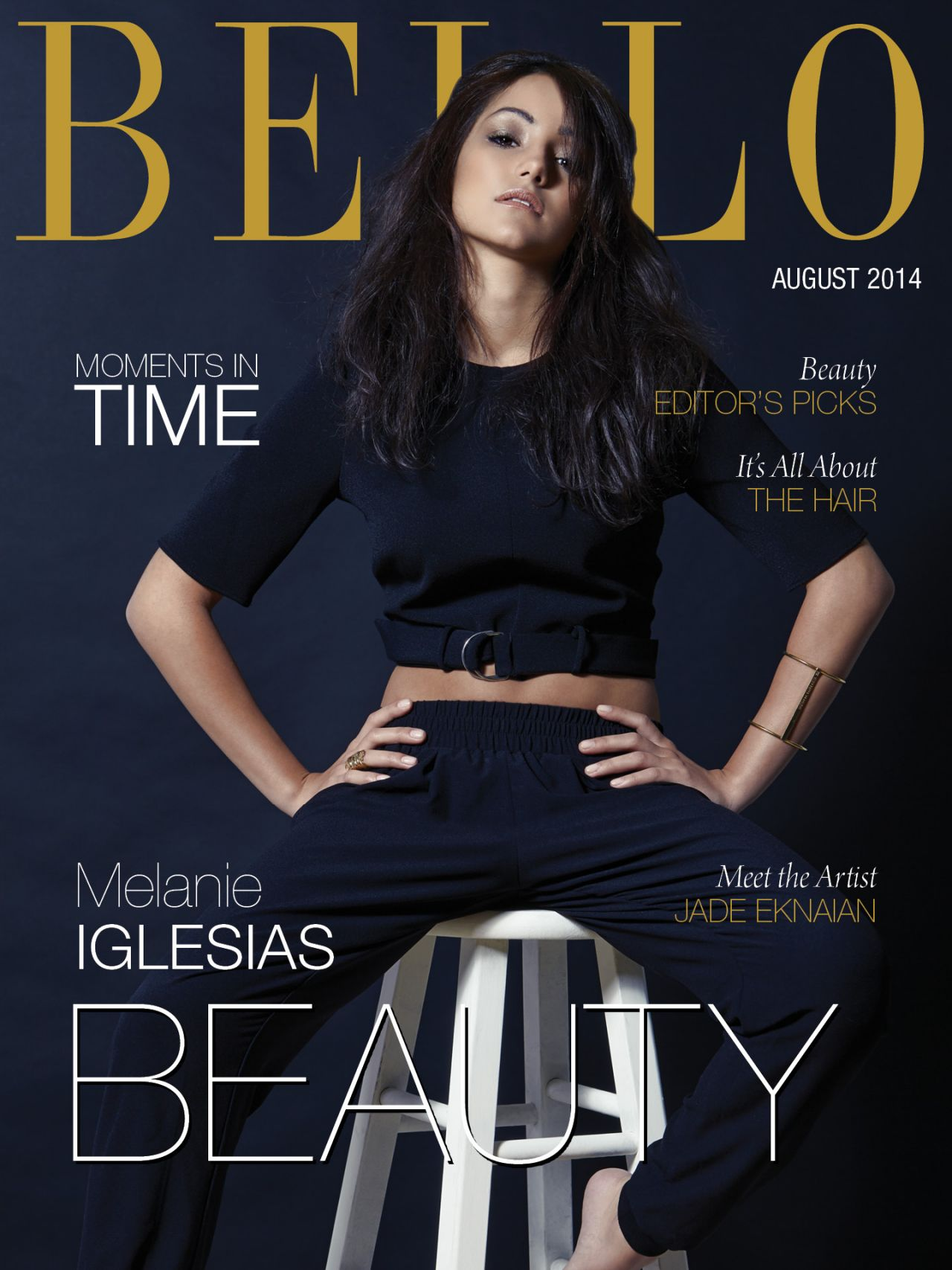Melanie Iglesias - BELLO Magazine August 2014 Cover