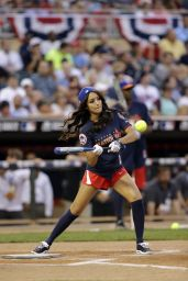 Melanie Iglesias – MLB All-Star Legends & Celebrity Softball Game – July 2014