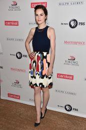Michelle Dockery - 2014 Summer TCA Tour - Downton Abbey Season 5 Photocall