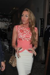 Michelle Heaton at Malibu RumPina Colada Party – July 2014