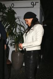 Michelle Rodriguez Night Out Style - at Chateau Marmont in Los Angeles - July 2014