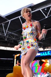 Miley Cyrus Performs at Capital Summertime Ball in London - June 2014