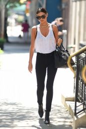 Miranda Kerr Casual Style - Out in New York City , July 2014