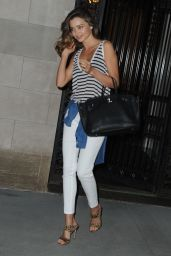 Miranda Kerr Hot Pics - at the Mandarin Oriental Hotel in NYC - July 2014