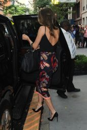 Miranda Kerr Leaves Jimmy Fallon Show in NYC - July 2014
