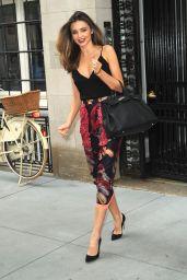 Miranda Kerr Leaves Jimmy Fallon Show in NYC - July 2014