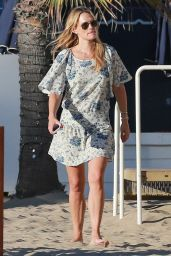 Molly Sims and Sarah Michelle Gellar at the Jonathan Club in Santa Monica - July 2014