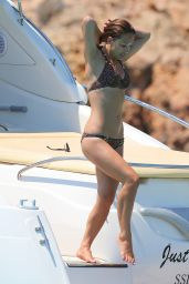 Myleene Klass Hot in Bikini - Ibiza, July 2014