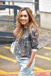 Myleene Klass - Leaving the ITV studios in London - July 2014