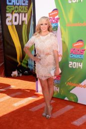 Nastia Liukin – 2014 Nickelodeon Kids Choice Sports Awards in Los Angeles