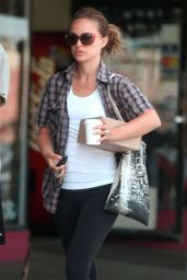 Natalie Portman - Out in Los Feliz - July 2014