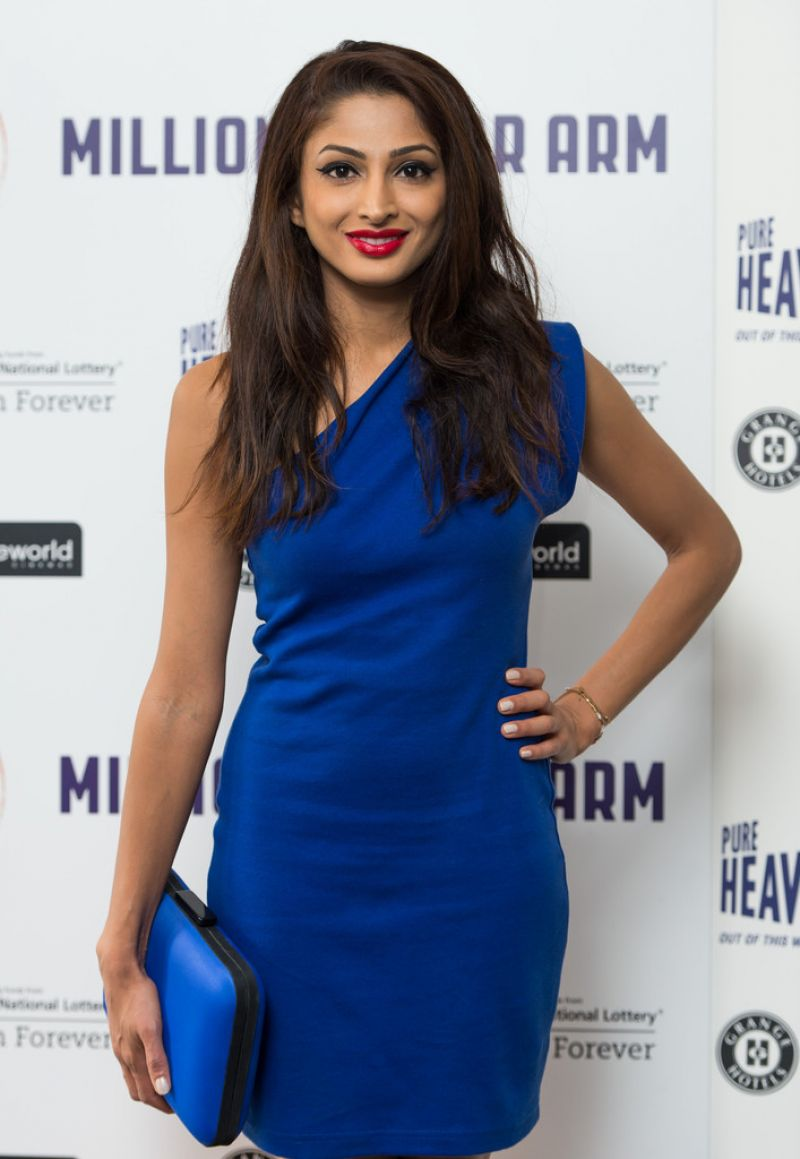 Neerja Naik – 'Million Dollar Arm' Premiere in UK